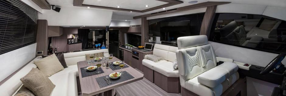 décoration cabine yacht