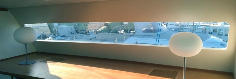 vitre teinté yacht