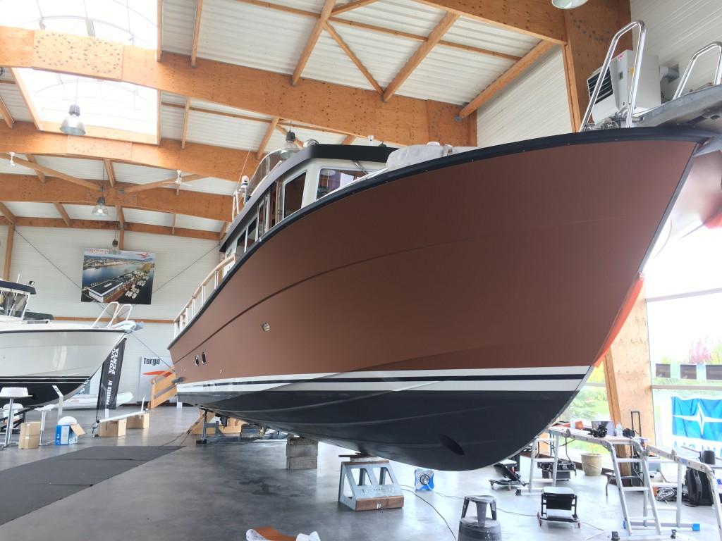 yacht wrapping Targa 42