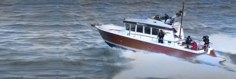 wtapping yacht TARGA42 Bronze