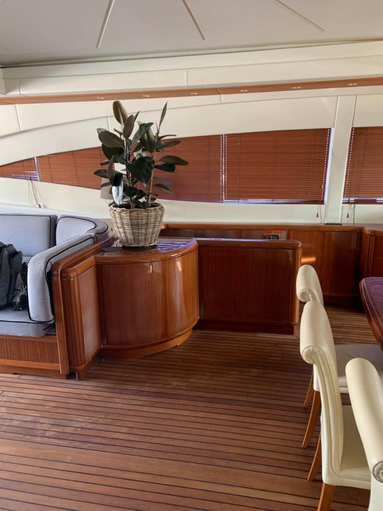 refit yacht