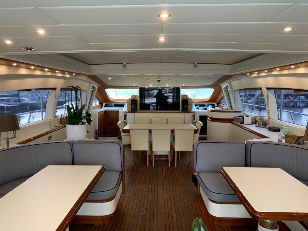 rénovation intéreur yacht
