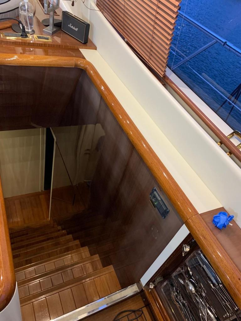 refit intérieur yacht